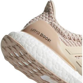 adidas UltraBoost Running Shoes Women Ash Pearl/Linen/Clear Orange